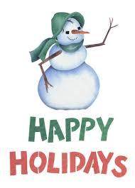 Holidays Snowman Happy Holidays Snowman Wall Stencil By Deesigns