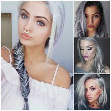 5 Amazing Grey Hair Ideas For 2017 New Hair Color Ideas Trends