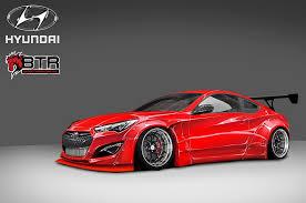 hyundai genesis coupe custom. Exellent Coupe Custom Hyundai Genesis Coupe Brings 800 HP To SEMA And A