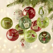 Owl Christmas Ornament Japanese Owl Ball Christmas Ornaments Set Christmas Ornament Sets