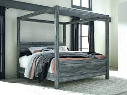 decoration: Queen Size Wood Canopy Bed Full Of House Gorgeous Frame ...
