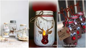 Mason Jars Decorated For Christmas 60 Captivating DIY Christmas Mason Jars Homesthetics Inspiring 10
