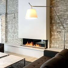 trisore 140 mkii linear gas fireplace with chase