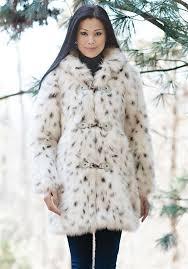 snow leopard hooded faux fur coat 5