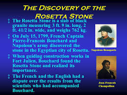 「Rosetta Stone, how and who discovered?」の画像検索結果