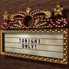 Custom Message on Our Marquee Sign for a day