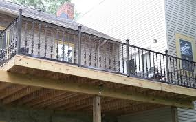 outdoor metal balusters. custom exterior railings balcony windsor ontario outdoor metal balusters l