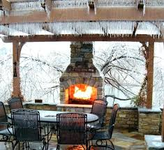 patio fireplace kit outdoor fireplaces kits uk for outside remodel 13