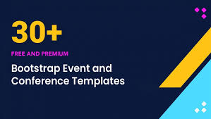 Free Templates 30 Free Bootstrap Event And Conference Templates