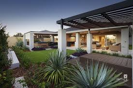 Alfresco Patio Backyard Design The Dynasty Display Home By Home Backyard
