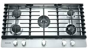 kitchenaid stove top. stove top kitchenaid 30 in gas cooktop kcgs956ess 36 5 burner with griddle s