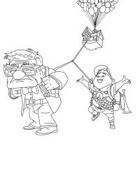 Small Picture Dress Up Coloring Pages Russell and The Dog Coloring Page Up
