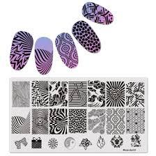 Stripe Templates Shop Diy Geometric Patterns Disk Nail Art Image Plate Stamping