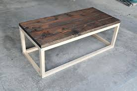industrial style coffee table decoration in industrial