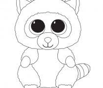 Small Picture Beanie Boo Coloring Pages Archives Free Printable Coloring Pages