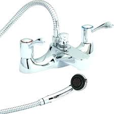 handheld shower head for bathtub faucet handheld shower head attaches to your tub spout deck mount
