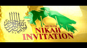 beautiful indian muslim wedding digital invitation video royal ic nikah ceremony vr 24