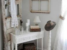 Perfectly Shabby Chic Accents, Accessories and Vignettes 9 Photos
