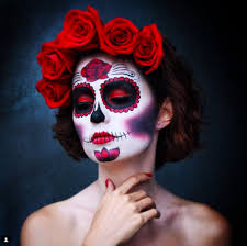 21 sugar skull makeup creations that are beautiful and haunting