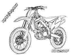 Small Picture Get This Free Simple Dirt Bike Coloring Pages for Children af8vj
