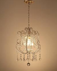 garwarm one lights vintage crystal chandeliers pendant lighting ceiling lights fixtures for living room bedroom restaurant porch chandelier bronze