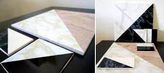 view in gallery diy marble tile art from mirror80