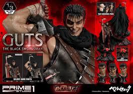 Berserk Guts The Black <b>Swordsman</b> Deluxe Version Prime1 ca <b>100 cm</b>