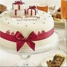 Bday Cake With Name Edit Birthdaycakeformenga