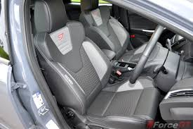2016 ford focus st front recaro seats