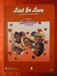 Lost In Love Sheet Music New Edition 1985 R B 6 Pop 35 Hit