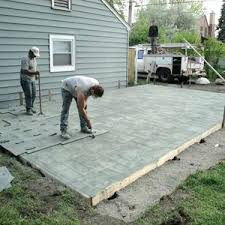 Cover concrete patio ideas Stamped Concrete Concrete Garden Backyard Concrete Patio Ideas Stamped Seamless Modern Poured Covering Concrete Patio Ideas Back Yard Slab Bristol Urnu Concrete Patios Home Decor Ideas Uin Munityus With Paint Pot Hoses