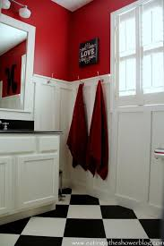 red bathroom color ideas. Cheap Creative Reader Projects No Shower Ideas Bathroomred Paint Colorscolor With Color For Bathroom. Red Bathroom C