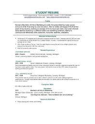 ... Lovely Ideas Student Resume Builder 6 Resume Builder For Students ...