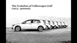 Volkswagen Golf: The Evolution (1974 - present) - YouTube