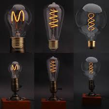 retro lighting. Image Is Loading Dimmable-Edison-Glass-LED-Bulb-Vintage-Industrial-Retro- Retro Lighting