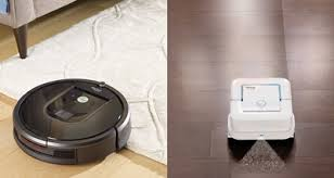 roomba vacuum and mop. Unique Mop IRobot Roomba 980 Vacuuming Robot And Braava Jet Mopping Intended Vacuum And Mop E