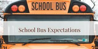 Image result for school bus expectations