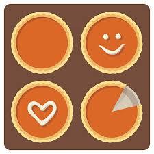 pumpkin pie clip art.  Art Pumpkin Pies Vector Art Illustration In Pie Clip Art I