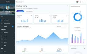 Bootstrap 4 Chart Example Dasha Bootstrap 4 Admin Template