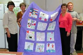 Bridging People and Places - Patterns for Quilts for Children in ... & Kids Helping Kids Artwork Block Quilts Adamdwight.com