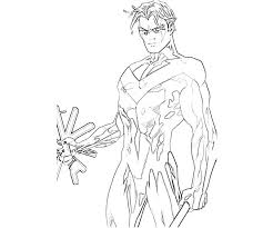 nightwing coloring pages stick coloring pages picture on batman and nightwing within