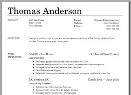 Build A Resume Online For Free