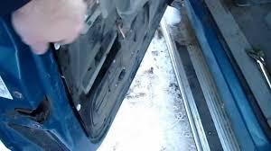 replacing 1998 chevy silverado exterior door handle