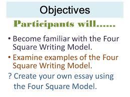 building essays building essays using the four square writing
