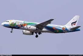 HS-PGV | Airbus A320-232 | Bangkok Airways | Shimizu Brothers