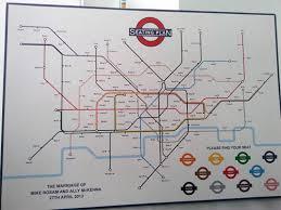 london underground wedding seating plan