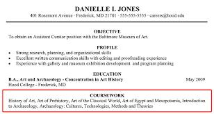 Coursework On Resume Templates Beauteous College Resume Example Resume Badak