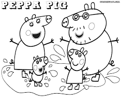 Coloring Pages Peppa Pig Birthday Photo Ideas Pj Masks For Kids