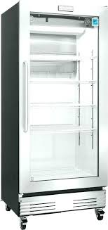 3 door commercial refrigerator used glass freezer combo residential um size of