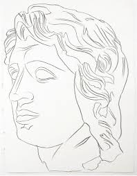 andy warhol portrait drawing essay andy warhol drawing alexander the great